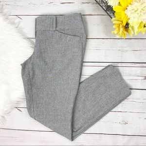 The Limited Slim Ankle Dress Pants Size 0 Gray